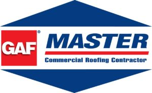Master GAF Commercial Roofing Contractor Logo